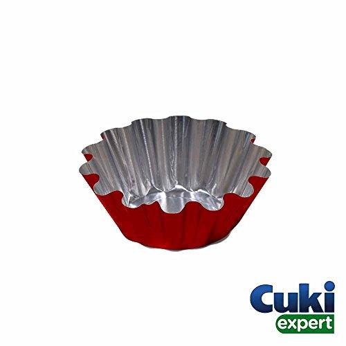 Cuki Expert - Formine alluminio usa e getta - forma per cupcake - stampi cupcake, muffin, dolci -...