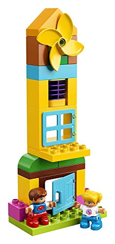 LEGO 10864 DUPLO My First Large Playground Brick Box Construction Set, Easy Toy Storage Preeschool Toys for Kids 2-5, Building toys for kids, list of building toys, construction toys, STEM toys for babies, STEM toys for toddlers, STEM toys for pre-schoolers