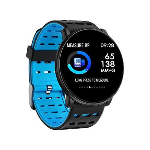 Siswong Orologio intelligente Smartwatch Orologio Forma fisica intelligente del braccialetto di...