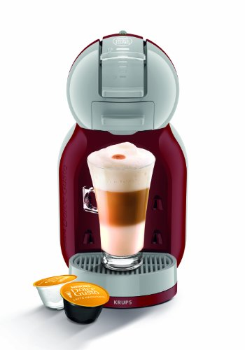 NESCAFE Dolce Gusto Mini Me Automatic Coffee Machine Grey by Krups - Red/Arctic