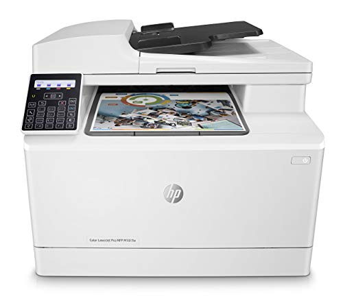 HP Stampanti Laser Pro M181fw Stampante Color LaserJet Multifunzione, Bianco