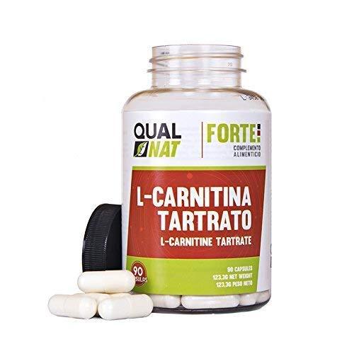 L-Carnitina per aumentare le prestazioni sportive - Integratore alimentare di carnitina con funzioni brucia grassi ed antiossidanti naturali per aiutare a perdere peso durante lo sport - 90 capsule