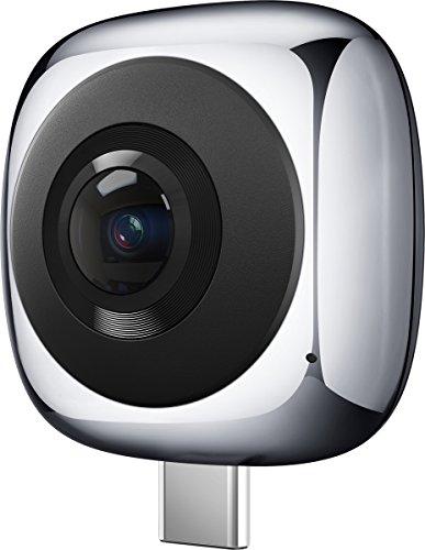 Huawei EnVizion 360 CV60, Cámara Panorámica 360º VR Video Dual 13MP, gris (Gray)