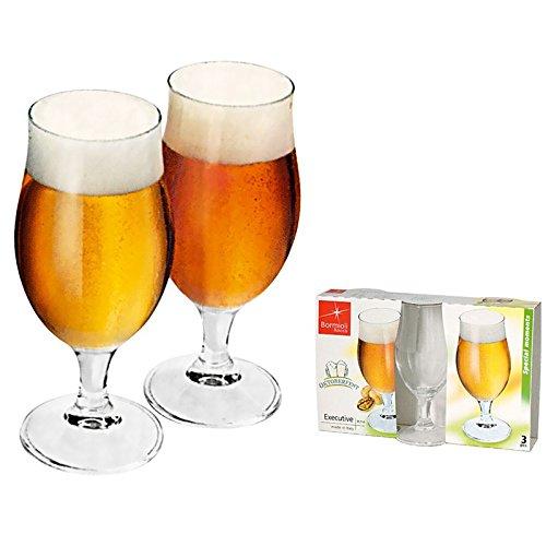 Confezione 3 Calici birra 37,5 cl - BORMIOLI ROCCO Linea Executive