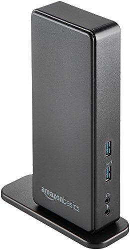 AmazonBasics - Docking station universale per laptop, USB 3.0