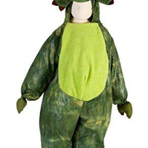 Deluxe - Disfraz de dinosaurio para niño, talla 5-2 años (Z12D)