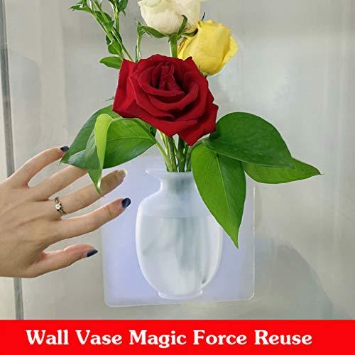 Vasi muro di gomma di silicone, la magia di silicone parete pasta di vetro, creativi emulazione...