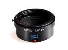 Baveyes 20331 - Adaptador para objetivos de cámaras Nikon FX, negro