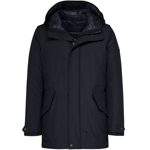 Woolrich Long Military Eskimo Blu Navy (XS, Blu)