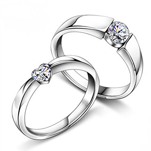 Anvi Jewellers Splendiferous Special Couple Love Ring Bands For