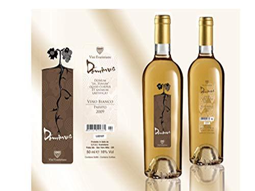 6 x 0.50 l - Dominus. Vino bianco sardo passito da uve moscato. Certificato biologico. Prodotto dalla Cantina Vini Evaristiano