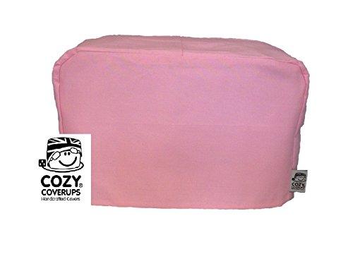 Cozycoverup copertura antipolvere per tostapane rosa (4 fette XL 20 cm x 30 cm x 30 cm)