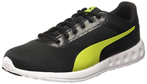 PUMA Men's Convex Pro IDP Black-Limepunch Running Shoes-7 UK/India (40.5 EU) (4060979816596)
