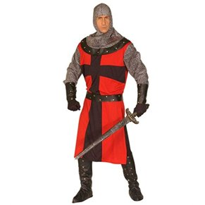 NET TOYS Traje de Caballero para Hombre templario Disfraz
