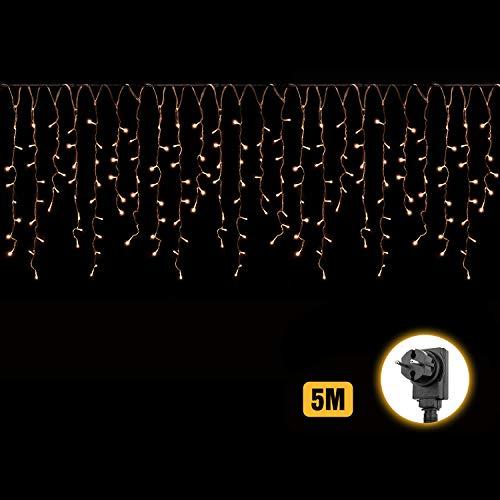 5m LED Luci Stringa 24 stringe, 50-80cm/ogni + 3m Cavo di alimentazione, stringa decorativa LED con...