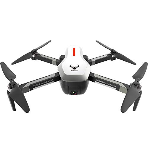 LIGESAY Mini Drone Pieghevole Sg906 GPS 5G WiFi FPV con 4K Ultra Clear Camera Brushless Selfie...