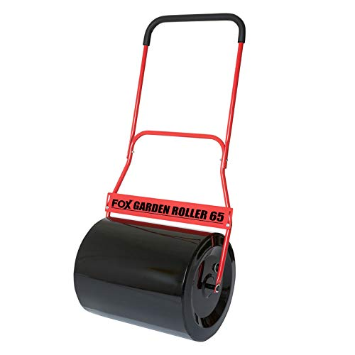 This the only roller that's made to house concrete comfortably. When filled with concrete, the roller weighs a massive 156kgs, which is more than enough to handle tough lumps in your lawn. The well-designed roller is perfect for large lawns and will create an evenness that's incomparable. It may take some muscle to manoeuvre but the end results are worth the effort.