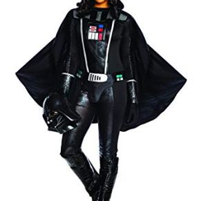 Charades Womens Darth Vader Fancy Dress Costume Star Wars X-Large