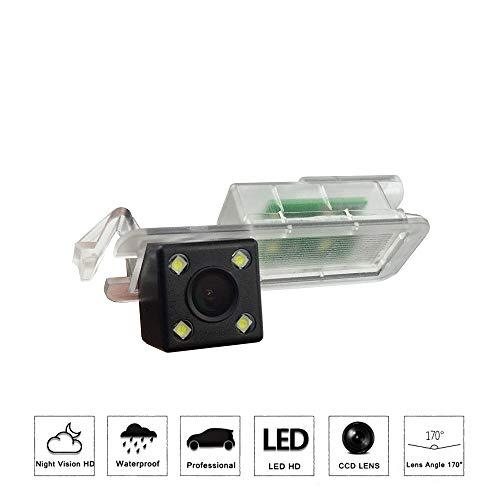 Telecamera HD per retromarcia auto, a colori, telecamera posteriore, impermeabile, con ampia visione notturna, per Jeep Compass 2017 2018 2019 MP/552