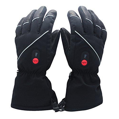 SAVIOR beheizte Handschuhe mit wiederaufladbare Lithium-Ionen-Batterie Beheizt für Männer und Frauen, warme Handschuhe für Das Radfahren, Motorrad, Wandern Skitouren, arbeitet bis zu 2,5-6 Stunden 1