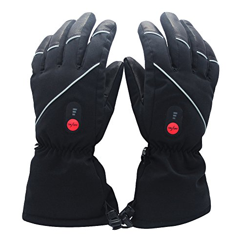 SAVIOR Guanti riscaldati per uomo e donna, batteria ricaricabile agli Ioni di Litio, guanti...