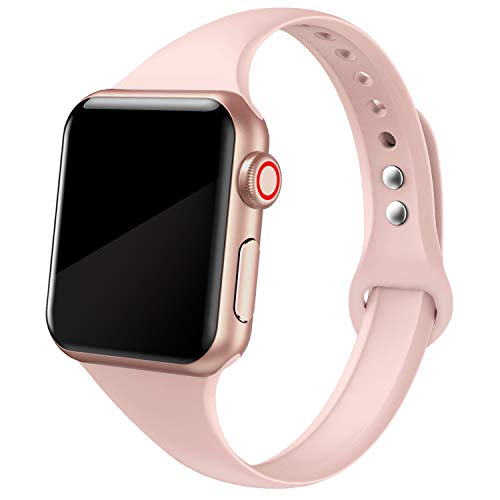 NetBoat Compatible Cinturino per Apple Watch Cinturino 40mm 38mm, Cinturino Morbido di Ricambio in Silicone per iWatch Series 4/3/2/1/5