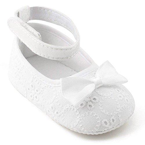 OOSAKU Scarpe da Bambino per Bambina Scarpe da Battesimo per Battesimo Scarpe da Ginnastica Antiscivolo