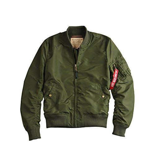 Alpha Industries Jacket MA 1 TT, Größe:XS, Farbe:dark green