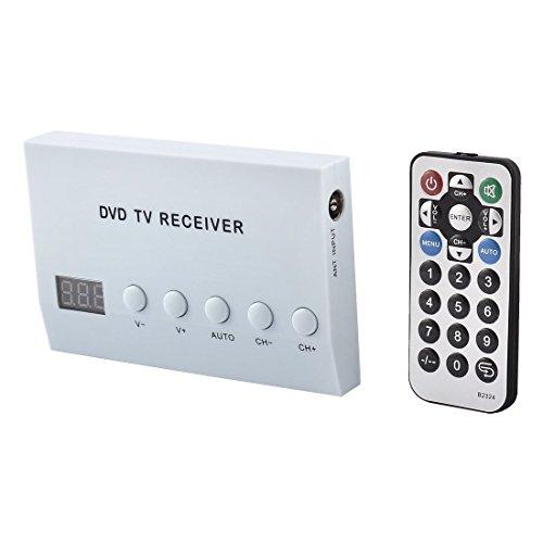 ELECTROPRIME Universal Car Streaming Media Player Station Preload Analog DVD TV Receiver Box