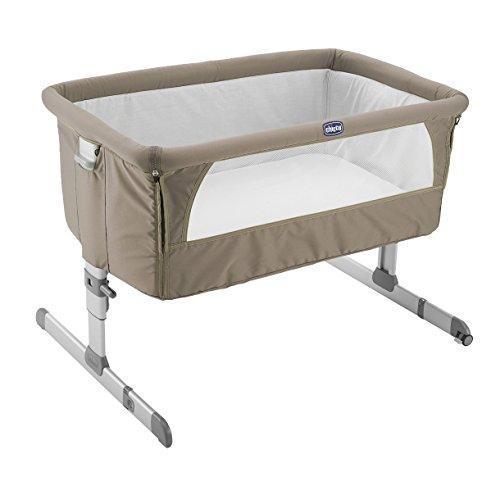 Chicco Next2Me - Cuna de colecho, con anclaje a cama, 6 alturas, color beige