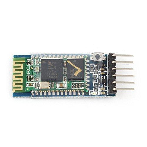 HC-05 RS232 TTL 9.1m Wireless bluetooth RF Ricetrasmittente Modulo Arduino - Paese di Produzione: CINA; Materiale: Parti elettriche - Peso Netto: 4g; Contenuto Confezione: 1 x Bluetooth Modulo - Marca: Assisi; Modello: HC-05 - Colore Principa...