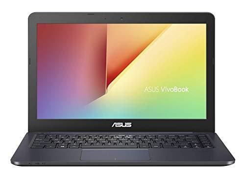 "ASUS VivoBook E14 E402WA-GA007TS - Portátil de 14"" (AMD E2-6110, 4 GB RAM, 64 GB eMMC, AMD Radeon R2, Windows 10 Home S) Azul Oscuro - Teclado QWERTY Español"