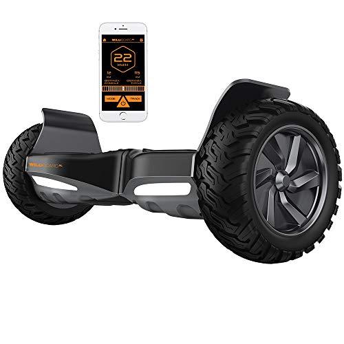 Twodots Wildboard Hoverboard Offroad con ruote da 8.5'', Connessione Bluetooth, velocità massima...