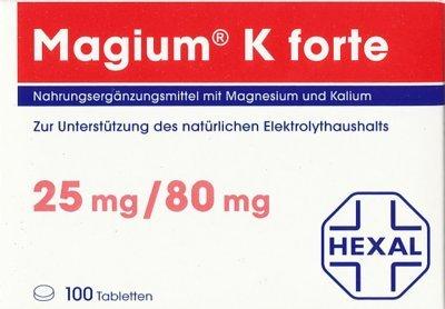 Magium K forte, 100 St. Tabletten
