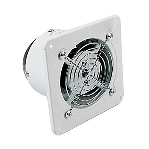 Heroger Inch 20W High Speed Exhaust Fan Wall-Mount Air Vent Exhaust for Kitchen Bathroom, Professional Direct-Drive Barrel