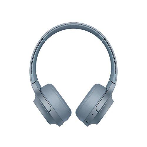 Sony WHH800 - Auriculares de Diadema inalámbricos con Bluetooth, Azul