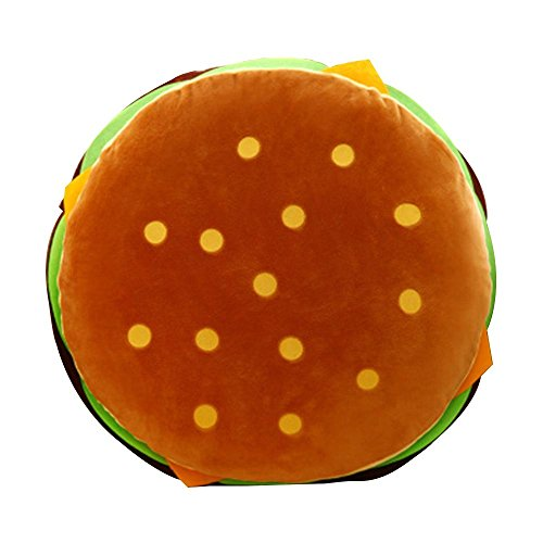 NACHEN Divani Cuscini Hamburger Home Car Cuscini Decorativi Quadrati Decorativi, Color 1, 40 * 40cm