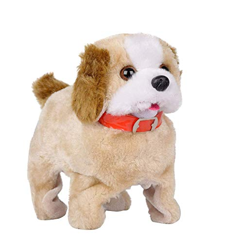 Sky Tech® Battery Operated Fantastic Jumping Walking Barking & Jumping Puppy That Flips Over Toy Best for Toddlers and Kids