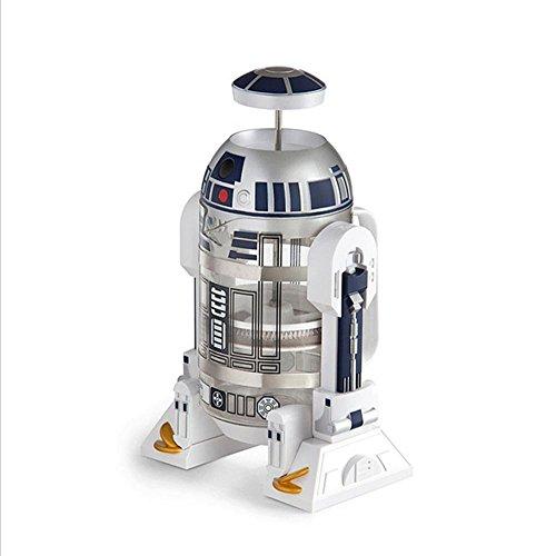 Star Wars, Robot, Casa, Mini, Mano, Caffettiera, Scaldino, Caffettiera Moka, Pressa francese (Guscio...