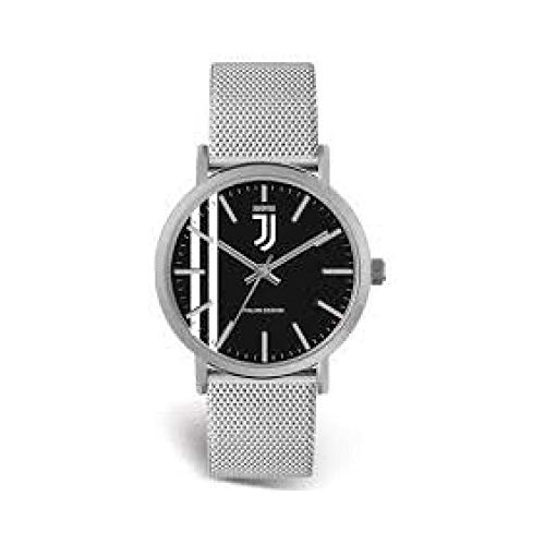 Orologio da polso - Ufficiale Juventus - cinturino in maglia metallica (orologio con scatola)