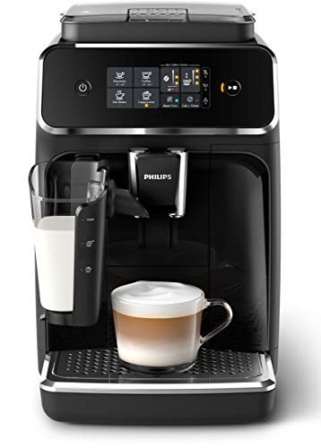 Philips EP2231/40 Serie Kaffeevollautomat, Klavierlack-Schwarz