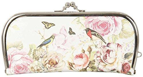 Clayre y fed FAP0092-5 Monedero Monedero bolsa neceser de aproximadamente 21 x 11 cm diseño de mariposa