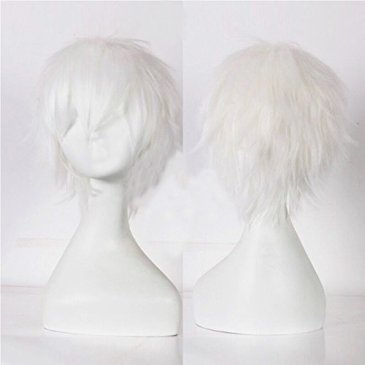 12″/30CM Perruque Cosplay Courte Wigs Anime