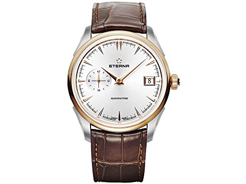 Eterna Heritage 1948 Legacy Small Second Automatik Uhr, Eterna 3903A, 18K Gold