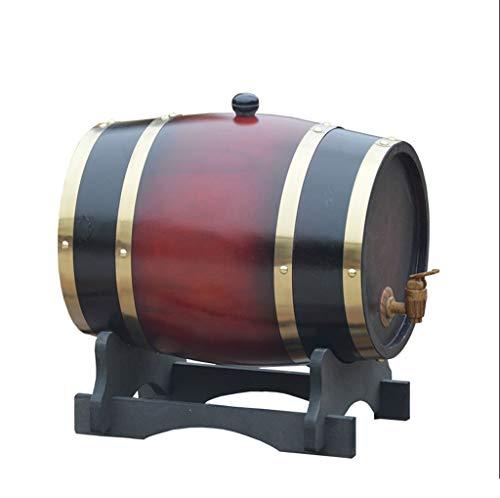 Hael Botti di Whisky di Quercia, Botti di Rovere con Tampone Incorporato per Birra o conservare la...
