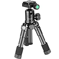 N.B. la fotocamera NON è inclusa!    Descrizione:     La piastra a sgancio rapido aiuta a garantire la sostituzione veloce dei dispositivi durante le riprese.    Le gambe hanno ognuna 5 segmenti incastrati con il design a stampella.    Il borsone ...