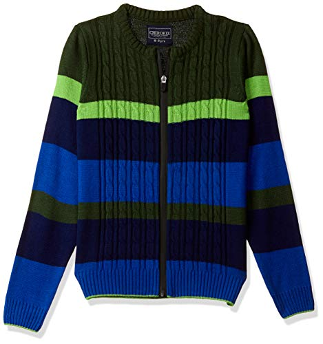 Cherokee by Unlimited Boys' Sweater (400017666525_Multicol_11Y)