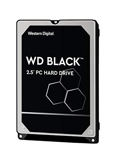 WD WD5000LPLX Hard Disk Mobile Performance, 7200 RPM, SATA 6 GB/s, 32 MB, Cache 2.5', 500 GB, Nero