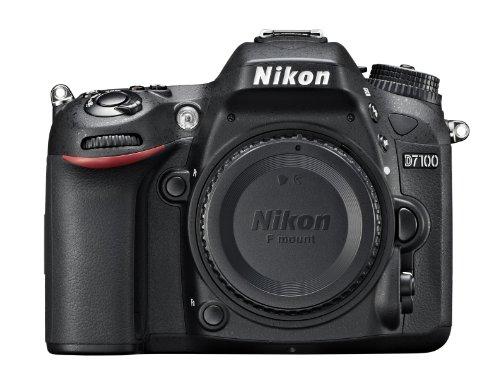 """Nikon D7100 - Cámara réflex digital de 24.1 Mp (pantalla 3.2"""", vídeo Full HD), color negro - sólo cuerpo (importado)"""
