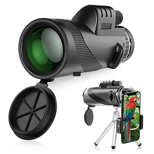 Telescopio Monoculare, innislink 40x60 HD Zoom Cannocchiale Telescope portatile con adattatore e...